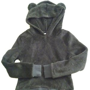 Epic Thread Faux Fur Teddy Hoodie